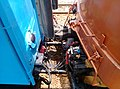 Coupling system of a TRA E400 and a Type 20000 passenger car 2018-08-09 01.jpg