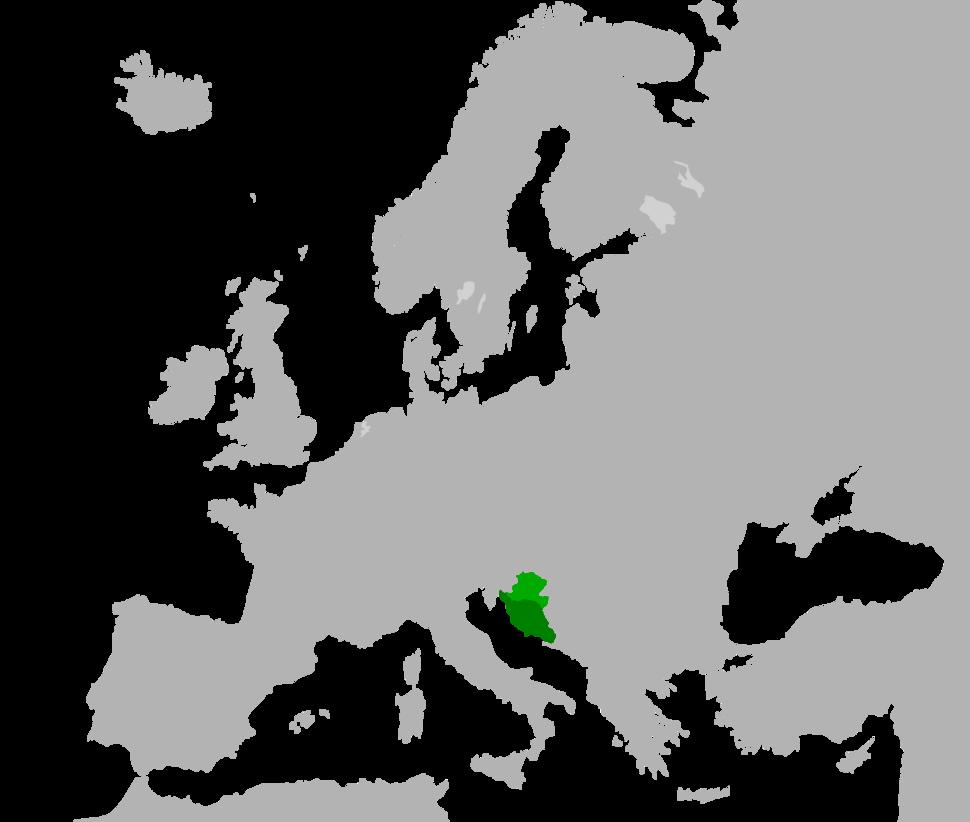 Kingdom of Croatia and Dalmatia in 1260