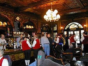 Crocker's Folly - The interior, 2001