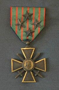 Croix de Guerre 14-18, MDLA.jpg