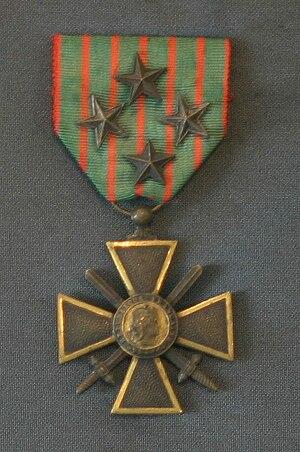 Henri du Couëdic de Kerérant - Croix de Guerre 14–18