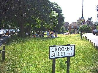 Crooked Billet - Image: Crooked Billet, Wimbledon. geograph.org.uk 19649
