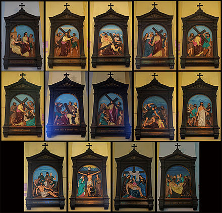 14 stations of the cross How can the answer be improved.