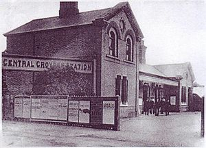Central Croydon railway station - Image: Croydon Central Station 1