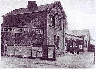 Central Croydon railway station - Image: Croydon Central Station 1