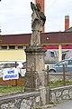 Csabrendek, Nepomuki Szent János-szobor 2021 01.jpg