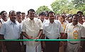 Cumbum P. Selvendran inaugurating the exhibition being held in the sidelines of the Bharat Nirman Public Information Campaign that got off, at Theni, in Tamil Nadu on August 21, 2010.jpg