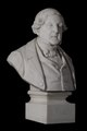 Cyprien Godebski, portrait of Gioacchino Rossini, signed marble 1865 03.tif