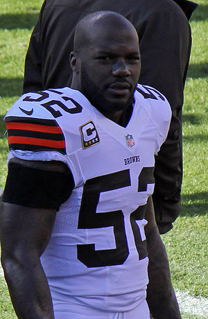 D'Qwell Jackson - Jackson in the 2012 NFL season.