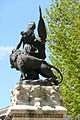Détail de la statue se trouvant sur le carreffour giratoire à Salon-de-Provence.JPG