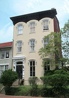 3401 Prospect St, home to ΔΦΕ, is used by other Greek societies.