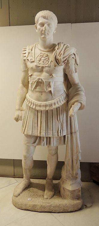 Drusus Julius Caesar - Statue of Drusus Julius Caesar from Sulcis (Sardinia, Italy).