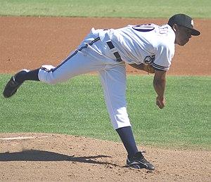 Jeremy Jeffress - Jeffress pitching in Arizona Fall League, 2008