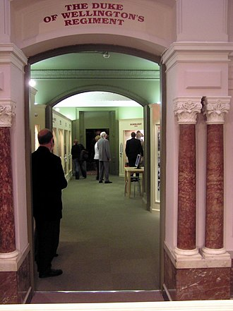 Bankfield Museum - Dukes Museum exit