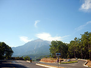 State road D.400 (Turkey) - Between Kumluca and Kemer (Antalya Province)
