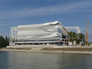 Danube Arena - Image: Dagály 2016.09.03 (2)