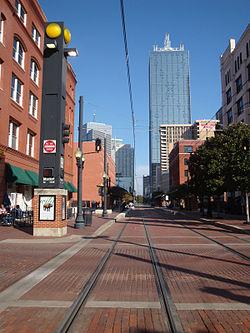 Dallas West End Station Renaissance Tower.jpg