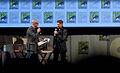 Damon Lindelof and Andrew Niccol, In Time Panel 2011.jpg