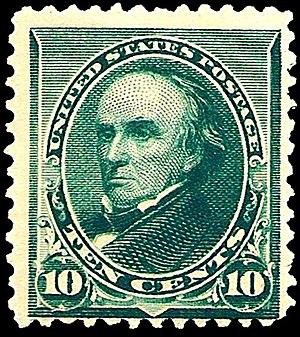 Daniel_Webster_1890_Issue-10c.jpg Postage stam...