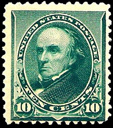 Daniel Webster 1890 Issue-10c