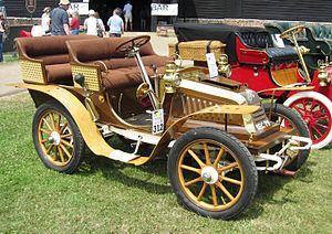 Automobiles Darracq France - 9 CV single cylinder tonneau 1902