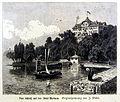 Das Schloß auf der Insel Mainau von Weber.jpg