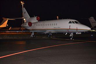 President of Ghana - Dassault Falcon 900 EX of the President of Ghana