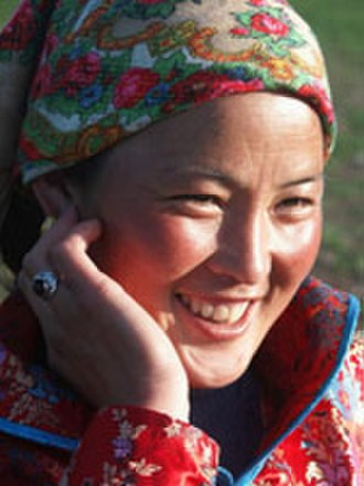 Daur people - Image: Daur woman smiling