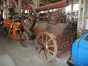 Paxman (engines) - Image: Davey Paxmann steam engine Berlin 001