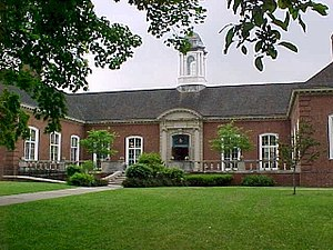 Wellsville, New York - David A. Howe Library, Wellsville, NY