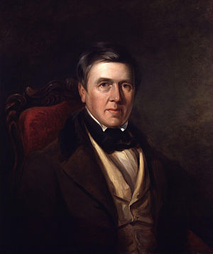 David Cox (artist) - David Cox (1830) by William Radclyffe, oil on canvas.