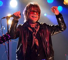 alt=Description de l'image David Johansen at SO36.jpg.