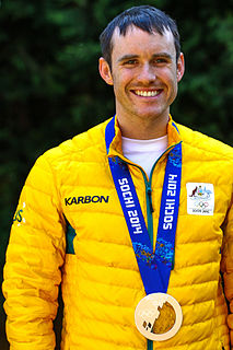 David Morris (skier) Australian skier