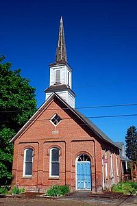Dayton Church Building (Yamhill County, Oregon scenic images) (yamDA0025b).jpg