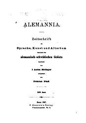 Alemannia (Band 24)