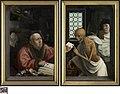 De gierigaard en de dood, circa 1515 - circa 1521, Groeningemuseum, 0040019009.jpg