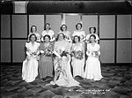 Debutantes at Marist Brothers College Randwick Annual Ball at Mark Foy's Empress Ballroom (7595459126).jpg