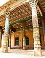 Decorated pillars. Mosque. Kashgar.jpg