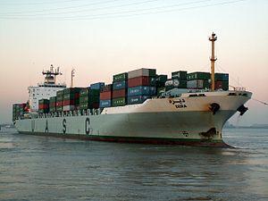 Deira p3, at Port of Antwerp, Belgium 11-Oct-2005.jpg