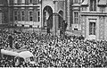 Demonstracja pod ambasadą Francji w Warszawie al. Frascati 22 w dniu 3 września 1939.jpg