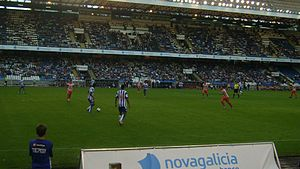 Teresa Herrera Trophy - Match between Deportivo La Coruña and Atlético Madrid.