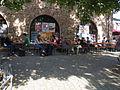 Der Marstall ältestes mittelalterliches Gebäude Heidelbergs beherbergt heute die Mensa der Universität .JPG