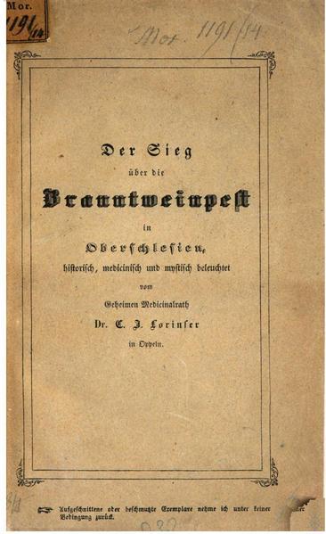 File:Der Sieg über die Branntweinpest in Oberschlesien-Lorinser-1845.pdf