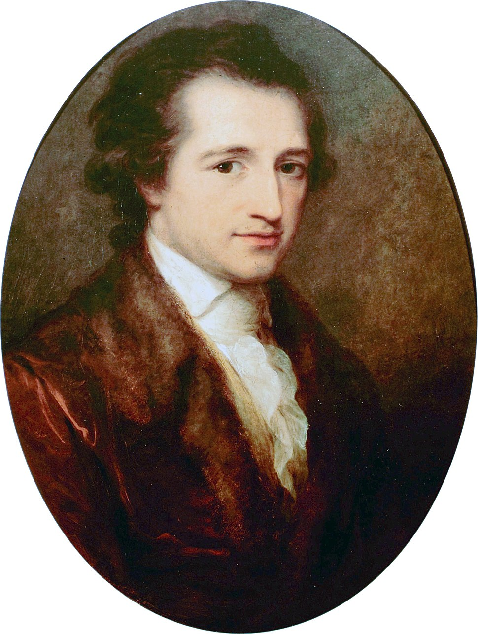 Der junge Goethe, gemalt von Angelica Kauffmann 1787