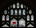 Derry St Columb's Cathedral Choirboys' Vestry Siege Window Upper Lights 2013 09 17.jpg