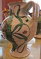 Deruta, orciolo da farmacia con grottesche, probabilmente 1507, 03.JPG