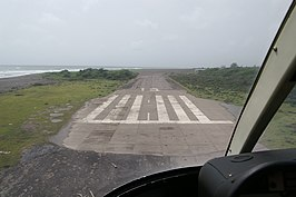 W.H. Bramble Airport in 2006 na de verwoesting