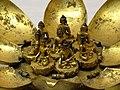Detail of Bronze Seated Buddhas on Lotus Mandala - Tibet (17th-18th Cent.) - National Palace Museum - Taipei - Taiwan (47868156131).jpg