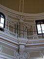 Detall de la decoració del tambor de la cúpula de l'Hospital, actual Biblioteca Pública de València.JPG