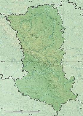 Voir sur la carte topographique des Deux-Sèvres